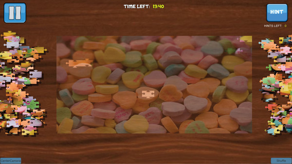 Bepuzzled Jigsaw Puzzle: Sweets