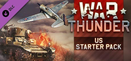 Купить War Thunder - US Beginner's Pack (DLC)