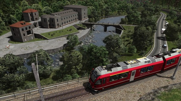 скриншот Train Simulator: Bernina Line: Poschiavo - Tirano Route Add-On 0