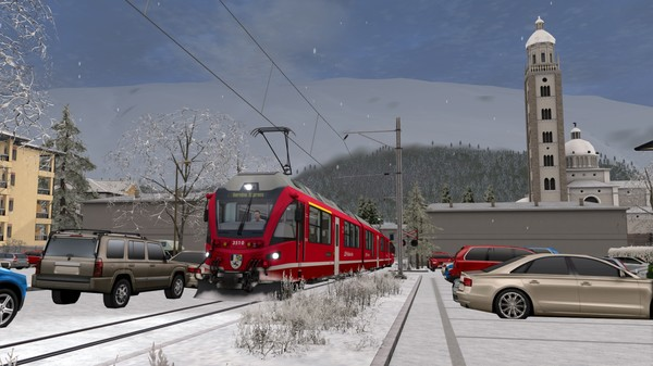 скриншот Train Simulator: Bernina Line: Poschiavo - Tirano Route Add-On 5