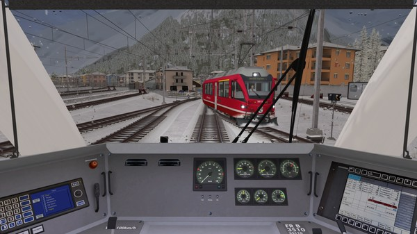 скриншот Train Simulator: Bernina Line: Poschiavo - Tirano Route Add-On 1