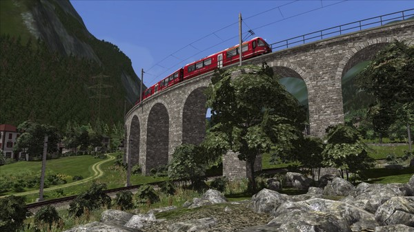 скриншот Train Simulator: Bernina Line: Poschiavo - Tirano Route Add-On 4