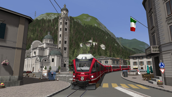 скриншот Train Simulator: Bernina Line: Poschiavo - Tirano Route Add-On 2
