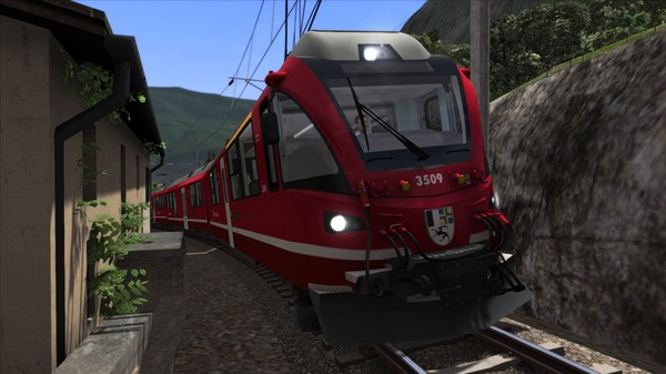 скриншот Train Simulator: Bernina Line: Poschiavo - Tirano Route Add-On 3