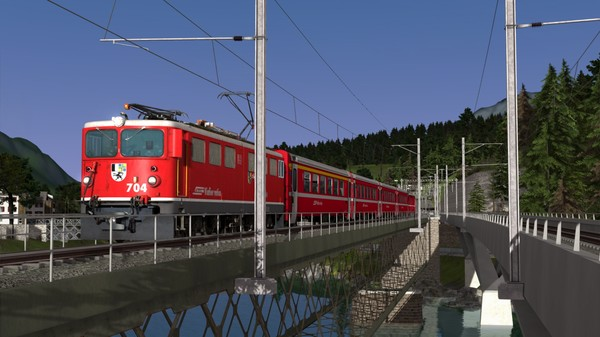 скриншот Train Simulator: RhB Enhancement Pack 04 Add-On 3