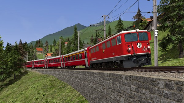скриншот Train Simulator: RhB Enhancement Pack 04 Add-On 0