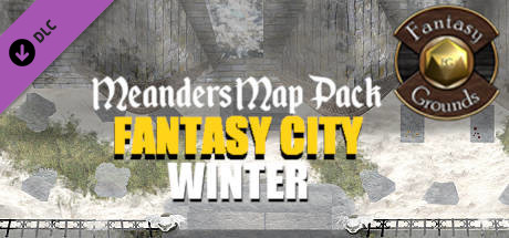 Купить Fantasy Grounds - Meanders Map Pack: Fantasy City Winter (Map Pack) (DLC)