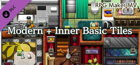 RPG Maker MV - Modern + Inner Basic Tiles on Steam