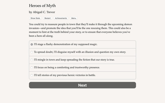 Heroes of Myth
