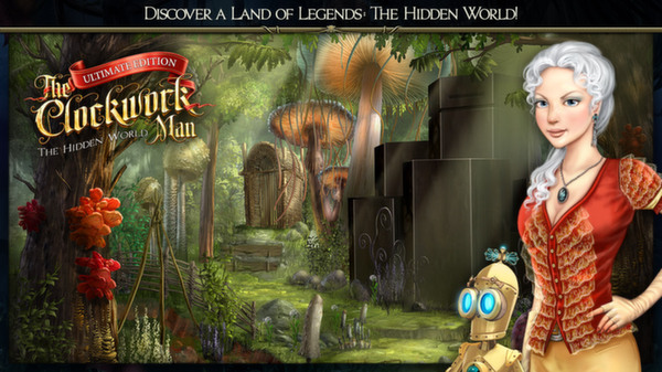 скриншот The Clockwork Man: The Hidden World 0