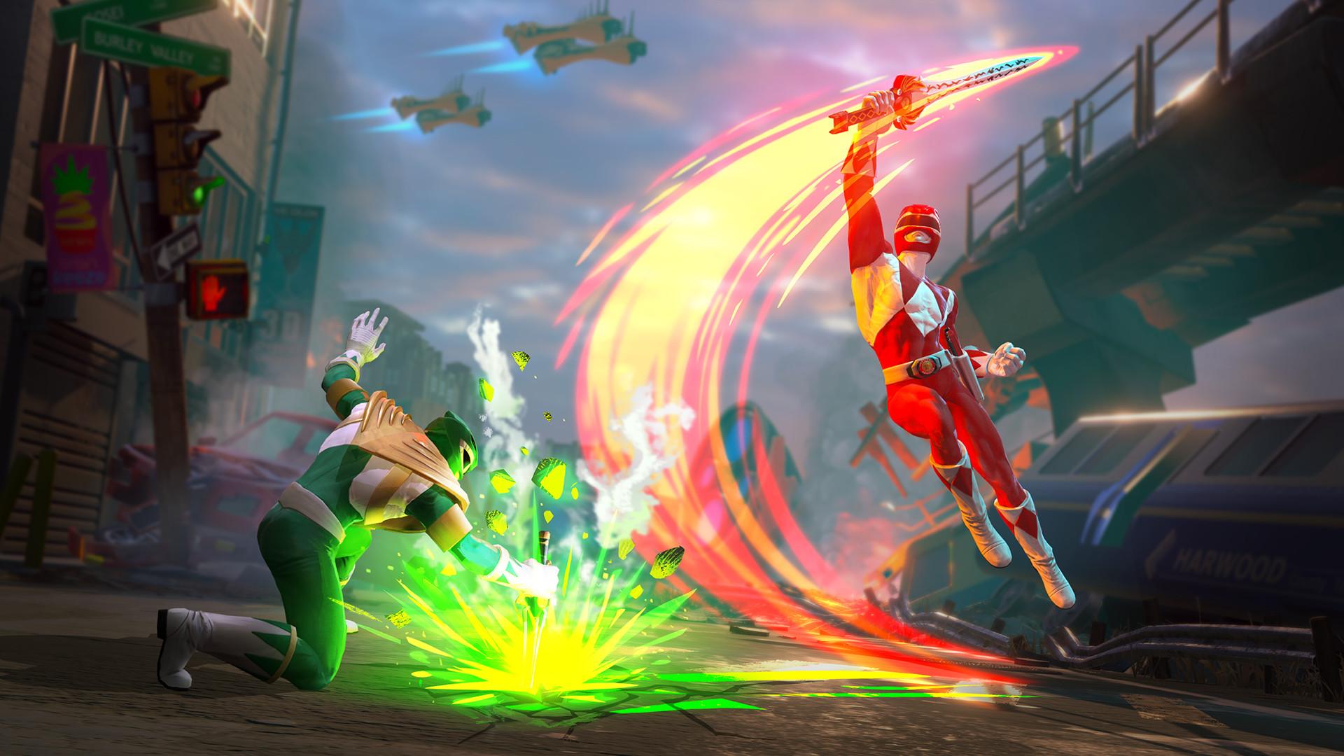 Power Rangers Battle For The Grid On Steam
