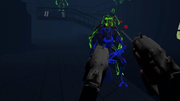 Alien Shooter in Space Cradle - Virtual Reality