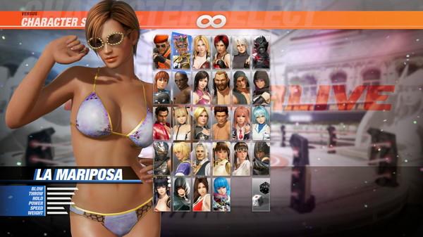 DOA6 Seaside Eden Costume - La Mariposa (DLC)