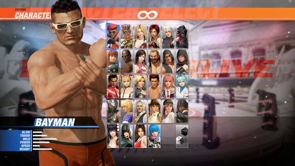 DOA6 Seaside Eden Costume - Bayman (DLC)