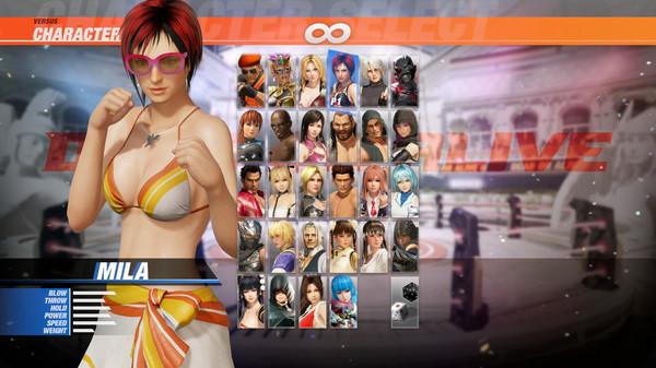 DOA6 Seaside Eden Costume - Mila (DLC)