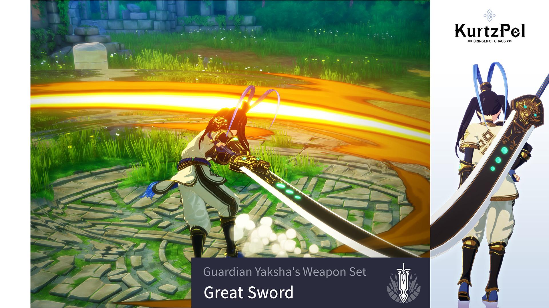 KHAiHOM.com - KurtzPel - Guardian Yaksha's Weapon Set