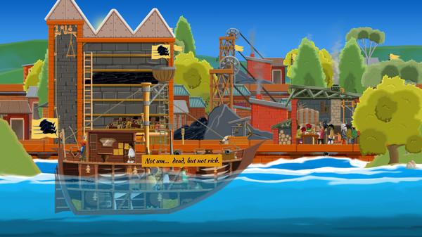 A pirate quartermaster