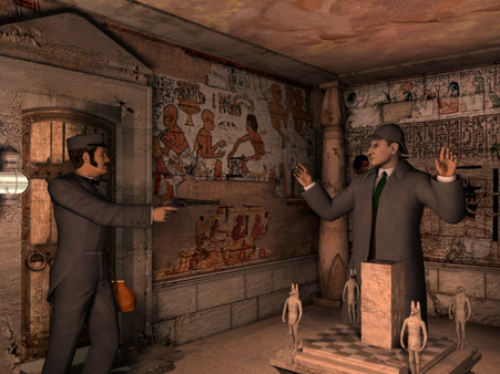 Скриншот из Sherlock Holmes: The Mystery of The Mummy