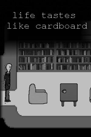Life Tastes Like Cardboard poster image on Steam Backlog