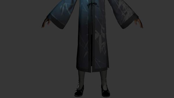探灵笔记-古墓地宫系列:穆正英·竹纹绉得罗(附送29999灵币) (DLC)