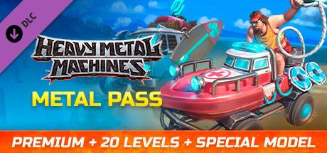 HMM Metal Pass Premium Season 5 + 20 Levels + Special Model