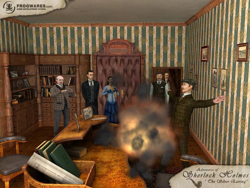 Sherlock Holmes: Secret of the Silver Earring