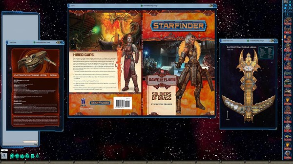 Fantasy Grounds - Starfinder RPG - Dawn of Flame AP 2: Soldiers of Brass (SFRPG) (DLC)