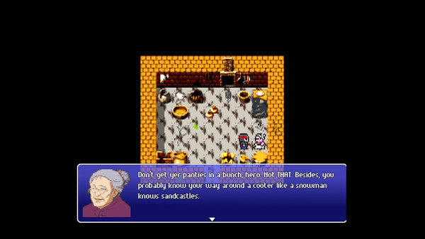 Victim Cache the RPG - An 80s JRPG Parody