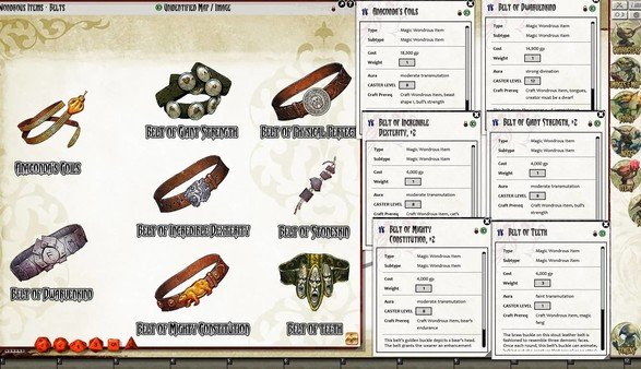 Fantasy Grounds - Pathfinder RPG - Ultimate Equipment (PFRPG) (DLC)