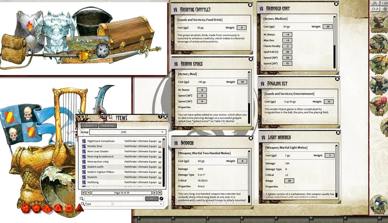 Fantasy Grounds - Pathfinder RPG - Ultimate Equipment (PFRPG)
