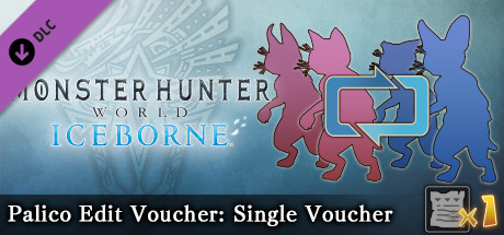 Monster Hunter: World - Palico Edit Voucher: Single Voucher