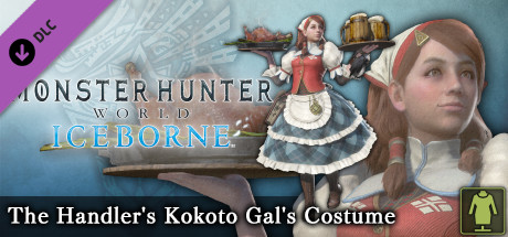 Monster Hunter: World - The Handler's Kokoto Gal's Costume