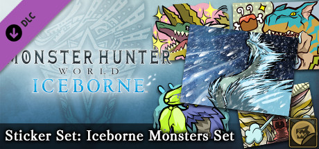 Monster Hunter World: Iceborne - MHW:I Sticker Set: Iceborne Monsters Set