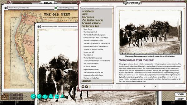 Fantasy Grounds - Down Darker Trails (CoC7E) (DLC)