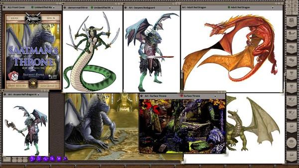 Fantasy Grounds - A22: Saatman's Throne (5E) (DLC)
