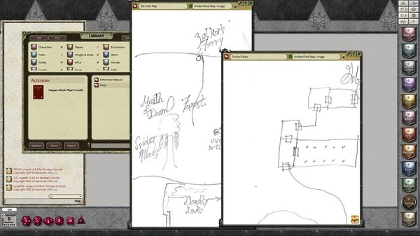 Fantasy Grounds - Rappan Athuk Player's Guide (Any) (DLC)