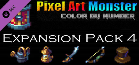 Купить Pixel Art Monster - Expansion Pack 4 (DLC)
