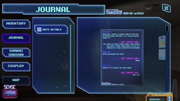 Sense - 不祥的预感: A Cyberpunk Ghost Story