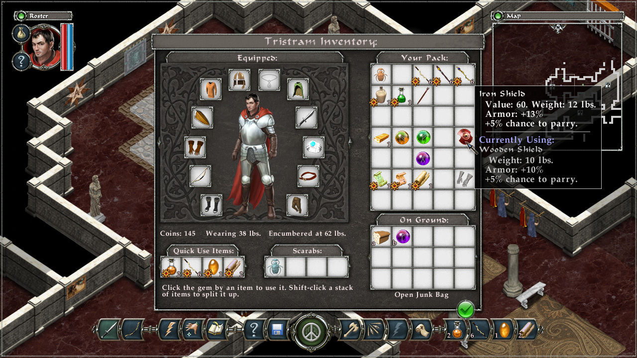 Avadon: The Black Fortress Screenshot 2