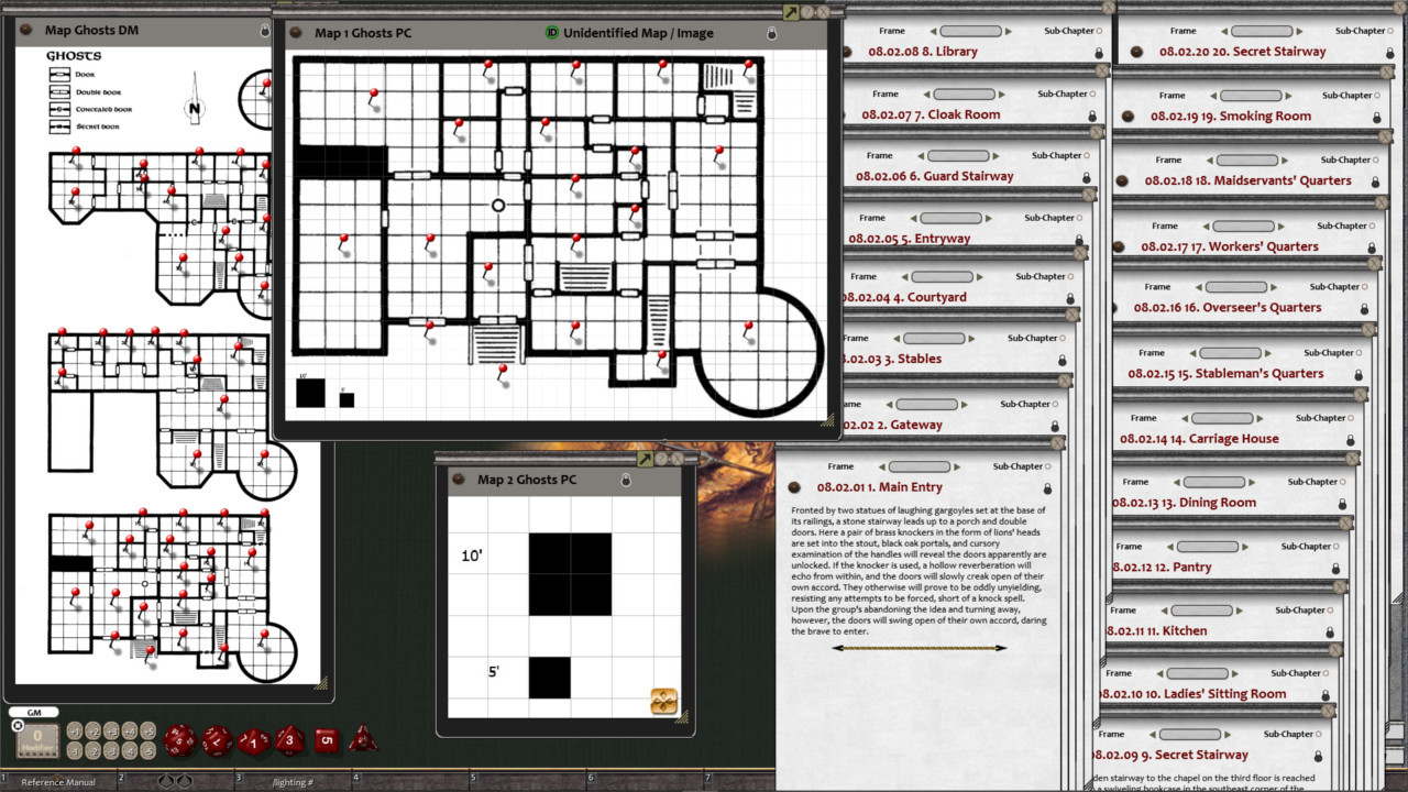 Fantasy Grounds - D&D Classics: REF5 Lords of Darkness (1E)