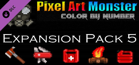 Купить Pixel Art Monster - Expansion Pack 5 (DLC)