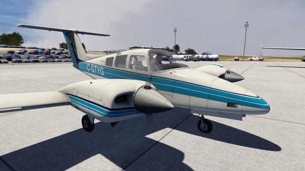 Aerofly FS 2 - Just Flight - Duchess (DLC)