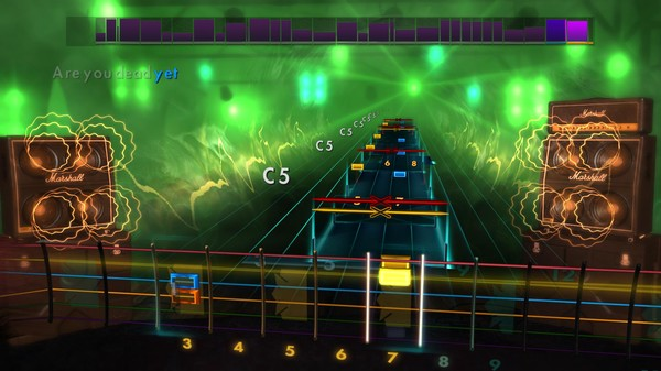 "Скриншот №3 к Rocksmith® 2014 Edition – Remastered – Children of Bodom - ""Are You Dead Yet?"""