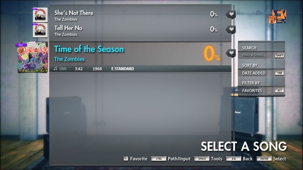 """Скриншот №4 к Rocksmith® 2014 Edition – Remastered – The Zombies - """"Time of the Season"""""""