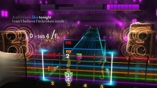 "Скриншот №3 к Rocksmith® 2014 Edition – Remastered – Daughtry - ""Feels Like Tonight"""