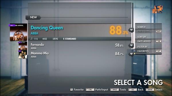 "Скриншот №5 к Rocksmith® 2014 Edition – Remastered – ABBA - ""Dancing Queen"""