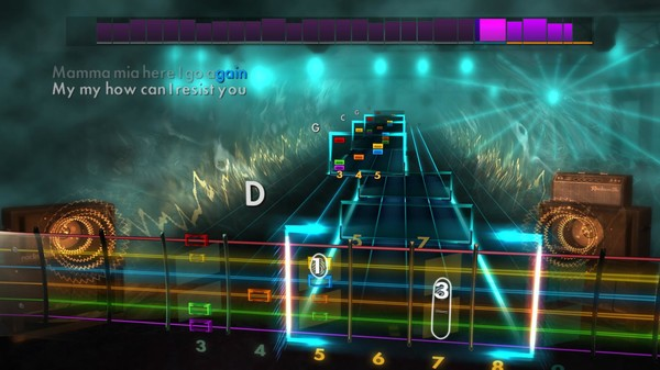 "Скриншот №2 к Rocksmith® 2014 Edition – Remastered – ABBA - ""Mamma Mia"""