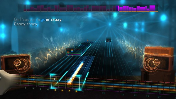 "Скриншот №1 к Rocksmith® 2014 Edition – Remastered – Aerosmith - ""Crazy"""