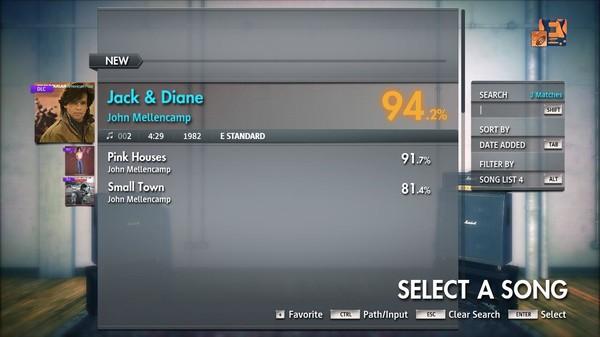 "Скриншот №3 к Rocksmith® 2014 Edition – Remastered – John Mellencamp - ""Jack  Diane"""