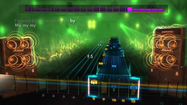 "Скриншот №2 к Rocksmith® 2014 Edition – Remastered – Great White - ""Once Bitten Twice Shy"""